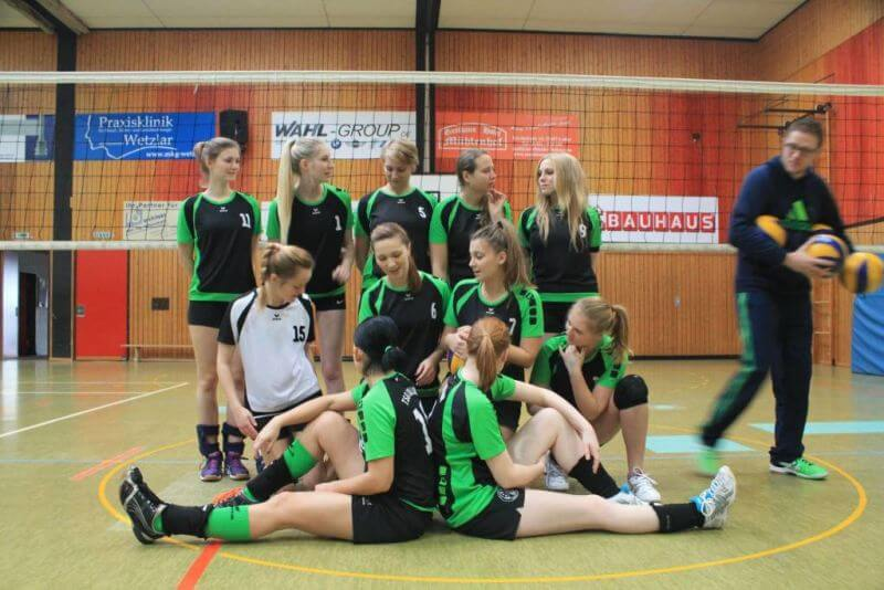 Mannschaftsbild FUN Damen1 TSG-Lollar Volleyball bei Gießen