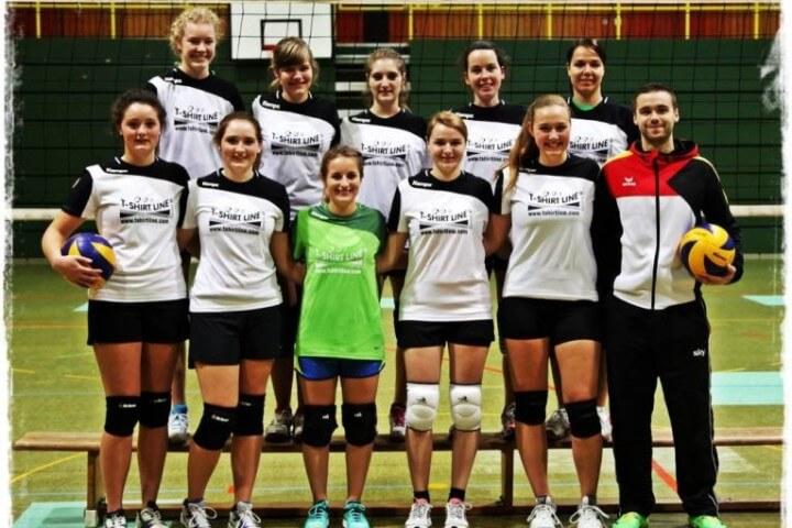 Mannschaftsbild Damen2 TSG-Lollar Volleyball