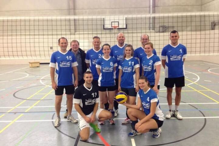 Mannschaftsbild Mxies TSG-Lollar Volleyball