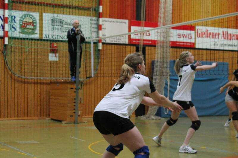 Volleyball Lollar Damen 2 Spiel1