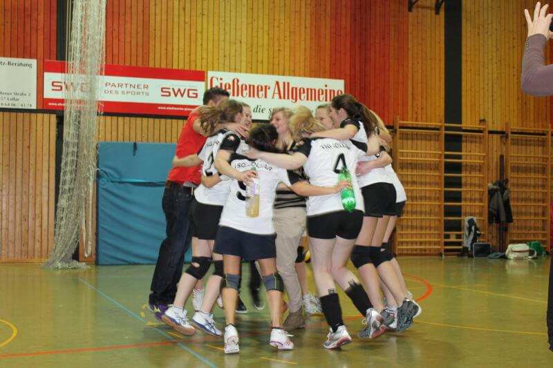 Volleyball Lollar Damen 2 Spiel18