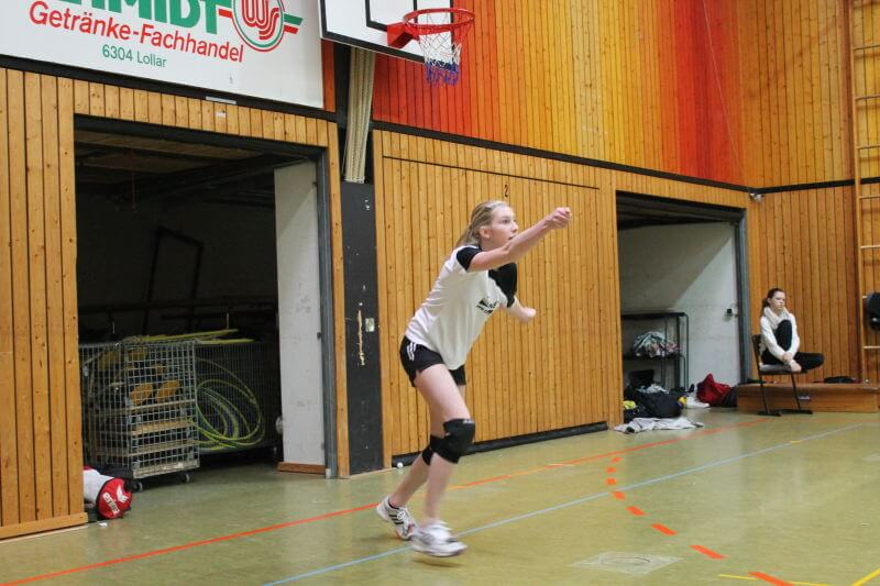 Volleyball Lollar Damen 2 Spiel2