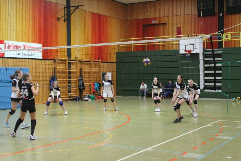 Volleyball Lollar Damen 2 Spiel3