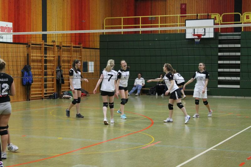 Volleyball Lollar Damen 2 Spiel6