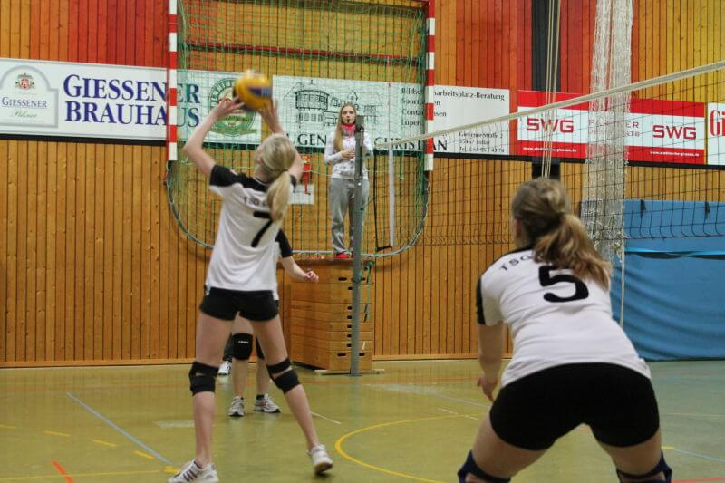 Volleyball Lollar Damen 2 Spiel8