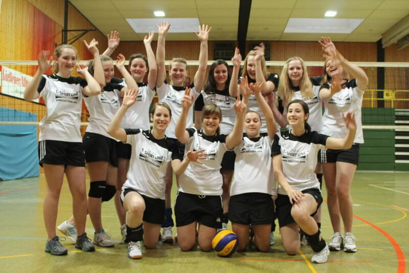 VolleyballLollar Damen 2 Team 2013/2014