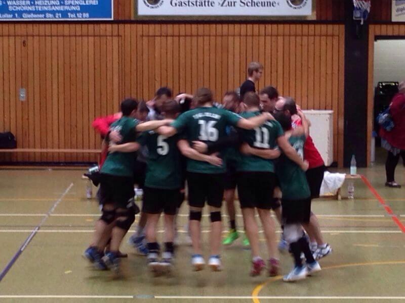 Volleyball Lollar Herren Spiel2
