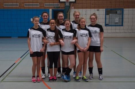 Mannschaftsbild Jugend TSG-Lollar Volleyball bei Gießen