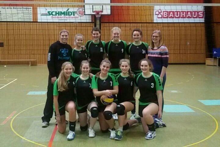 Mannschaftsbild Jugend TSG-Lollar Volleyball