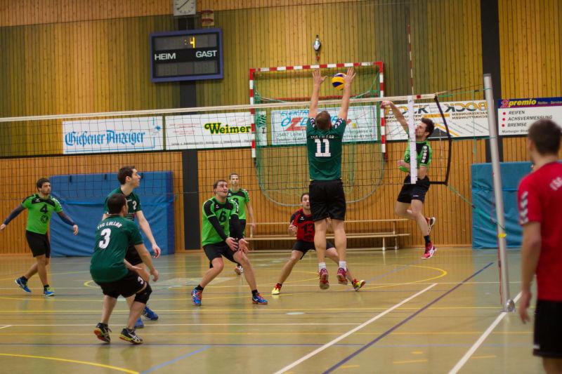 TSG Lollar Volley Herren HS 14.2.16 14