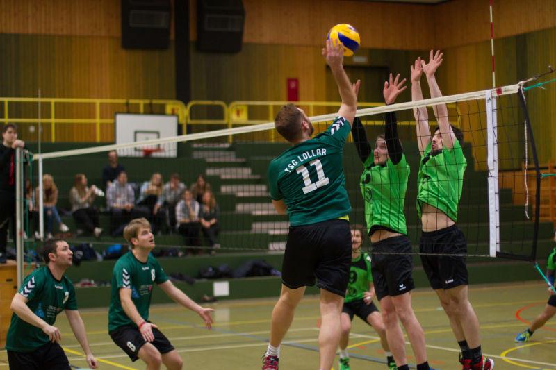 TSG Lollar Volley Herren HS 14.2.16 15