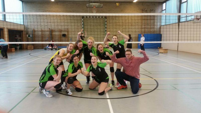 TSGLollar Volleyball Damen1 gelingt grandioser Sieg in Hartenrod