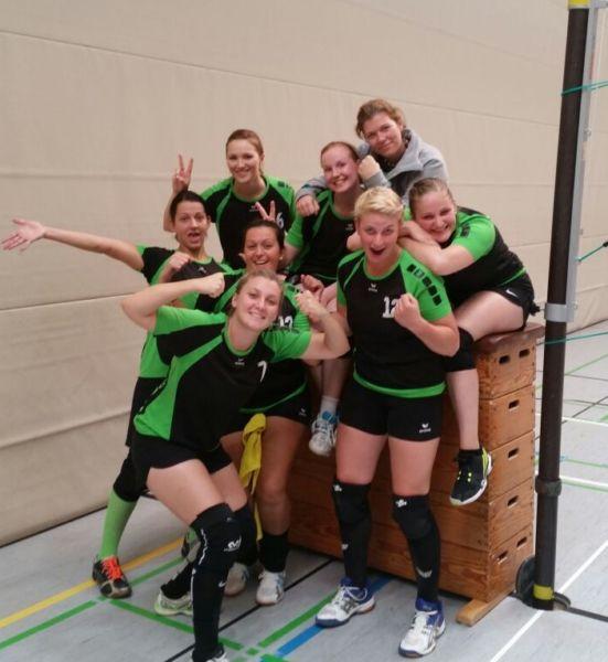volleyball damen1 2. tag giessen