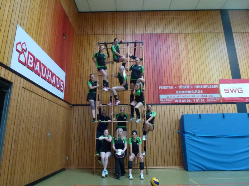 Damen1 Mannschaftsbild 2016/2017